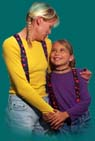Suspenders and Belts - Suspender Factory mother and Daughter with suspenders